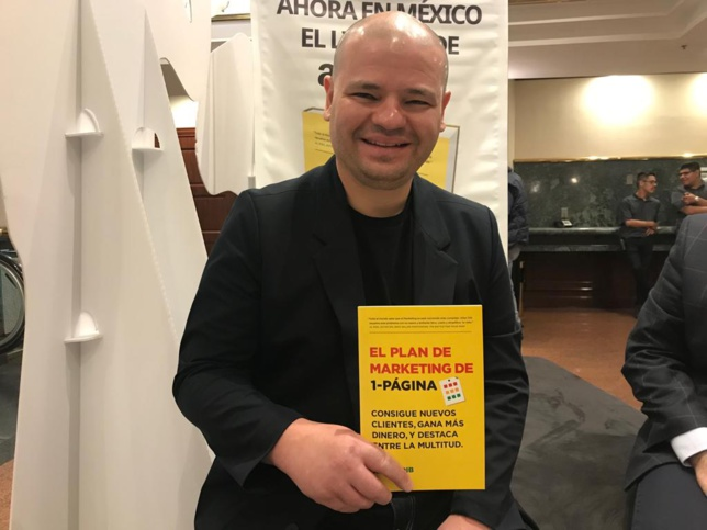 Allan Dib, Autor de El Plan de Marketing de 1-Página.